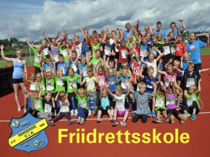 Friidrettsskole i Hønefoss /Idrettsleker