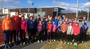 Ringerike Friidrettsklubb fellesfoto trening 8. mai 2017