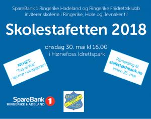 Skolestafett for Ringerike, Hole og Jevnaker med skolemesterskap i tautrekking! @ Hønefoss idrettspark | Buskerud | Norge