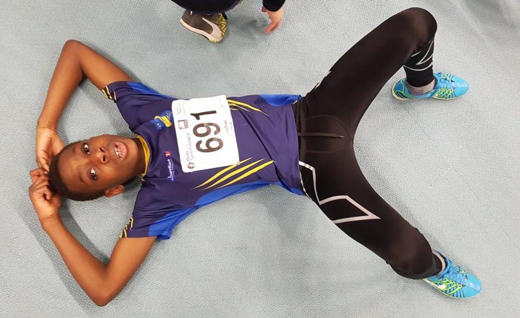 Joseph etter sin første 600 m noensinne!