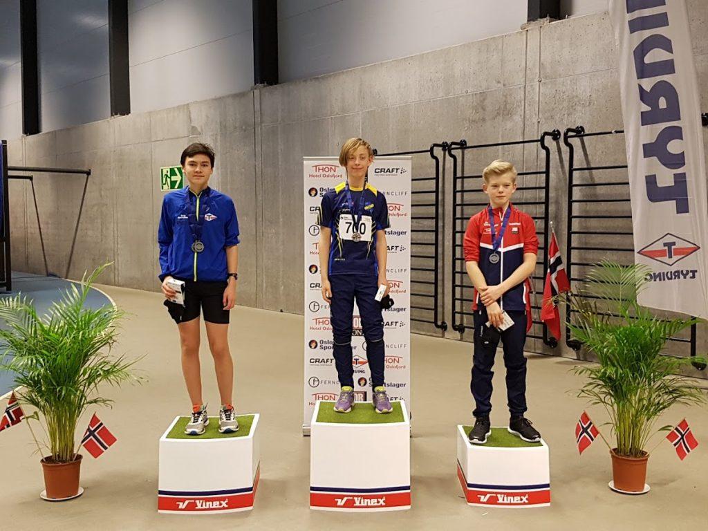 Valentin vant for første gang på Tyrvinglekene etter 3 års forsøk