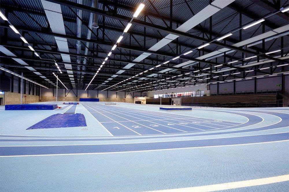 Bærum idrettspark - friidrettsanlegget