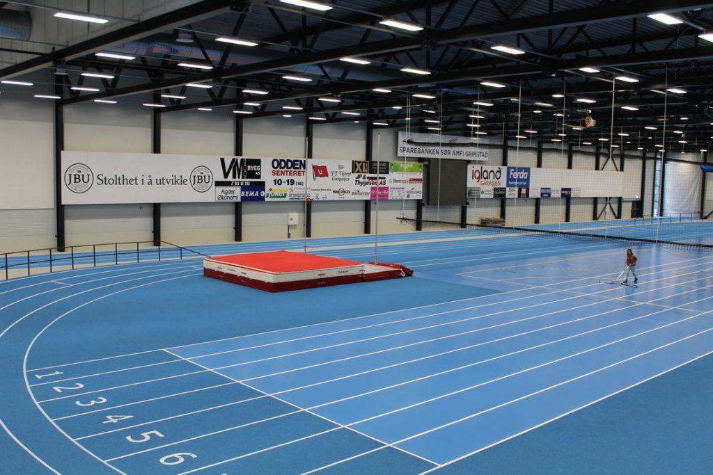 Friidrettshallen Sparebanken Sør Amfi Grimstad