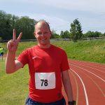 Olof etter 200 m