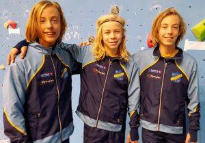 Valentin, Viljar og Mindor på låvefesten i Nes Arena