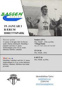 Bassen sprint @ Bærum Idrettspark