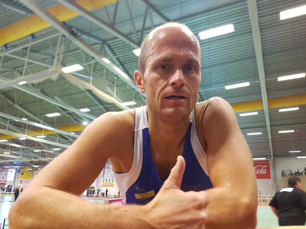 Robert vant to gull på NM for veteraner
