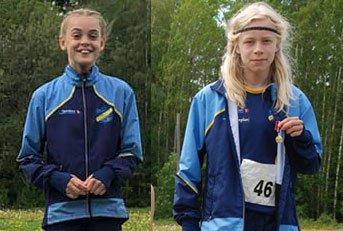 Viljar Kjølstad Wikjord og Anna Birgitte ble begge kretsmestre på korthekken