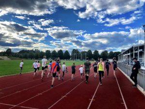 Sommertrening i Hønefoss Idrettspark
