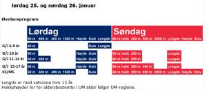 Norgeslekene Inne - 2020 @ Nes Arena, Hvam
